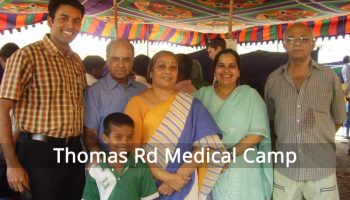 Medical Camp at Thomas Road