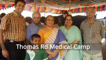 Medical Camp at Thomas Road