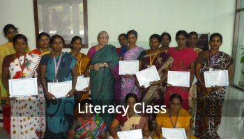 Adult Literacy at Alinjivakkam-2015