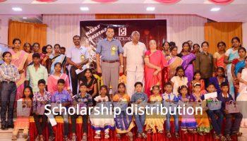 Scholarship Distribution-2015