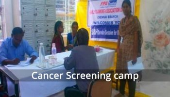 Cancer Screening Camp