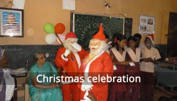 Christmas celebration at Adopted School 2017